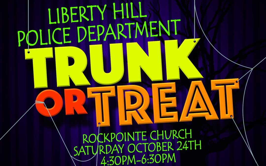 LHPD Trunk or Treat